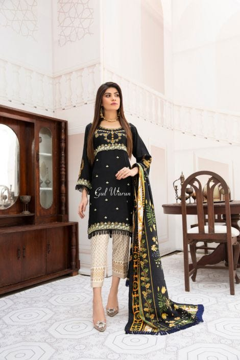 Luxury Winter Ready to Wear Collection by Gulwarun 06