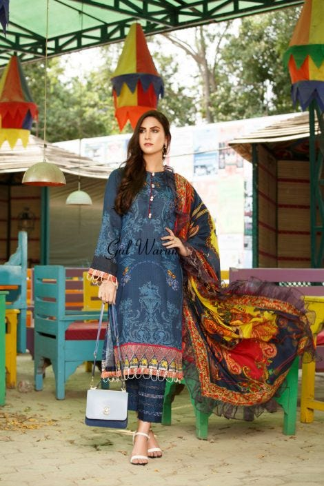 Gulwarun Eid Lawn Ready to Wear Collection 09