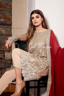 Gold Luxe Luxury Pure Chiffon Collection by Gulwarun