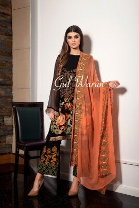 Monarch Pure Chiffon Collection by Gulwarun