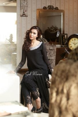 Black Lacework dress by Gul warun